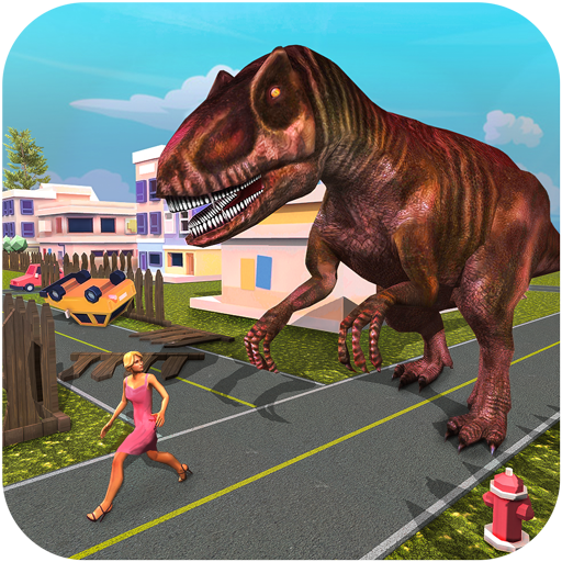 Monster Dinosaur Simulator City Rampage 1.2 APKs MOD Unlimited moneycoin Downloads for android