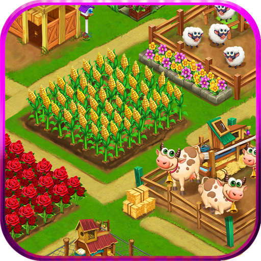 Farm Day Village Farming Offline Games 1.2.28 APKs MOD Unlimited moneycoin Downloads for android