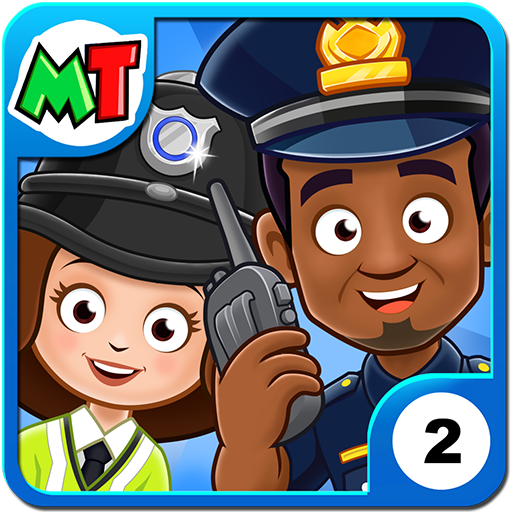 My Town : Police Station Pretend games for Kids  APKs (MOD, Unlimited money/coin) Downloads for android