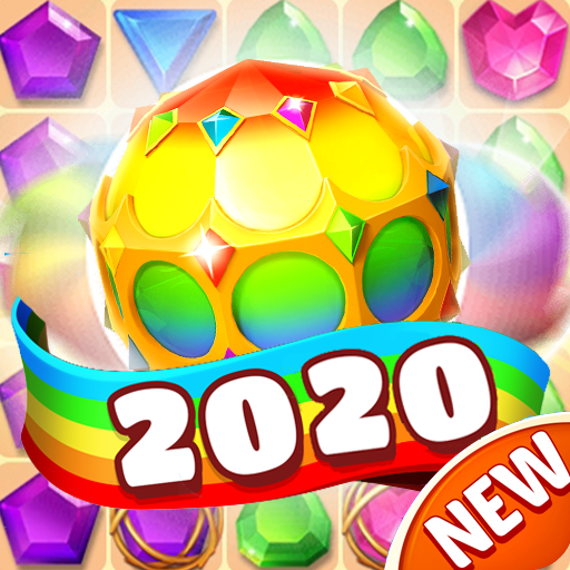 Jewel Crush-Gems Blast 2020 1.2.1 APKs (MOD, Unlimited money/coin) Downloads for android