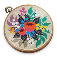 Cross Stitch Club Color by Numbers with a Hoop 1.4.16 APKs MOD Unlimited moneycoin Downloads for android