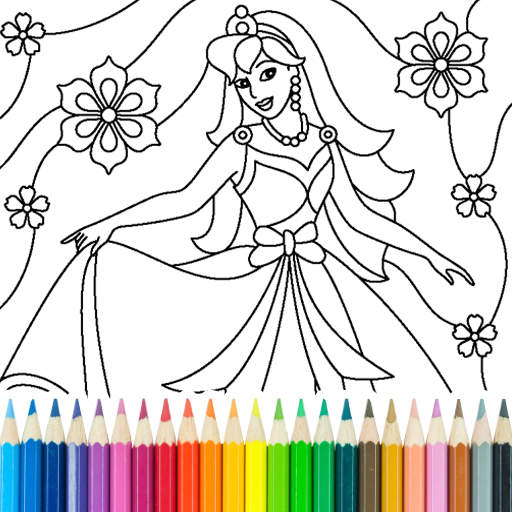 Princess Coloring Game  16.4.2 APKs (MOD, Unlimited money/coin) Download